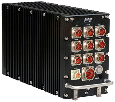 M-Max 810 PR/MS3 high-performance rugged ATR system