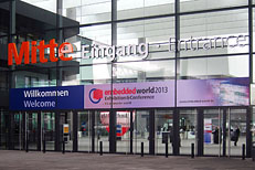 Entrance to Embedded World