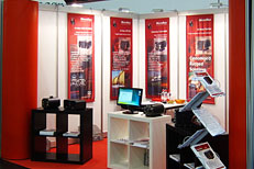 MicroMax booth at Embedded World