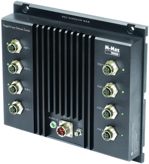 M-Max SW208 Rugged Gigabit Ethernet Switch