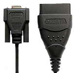Kvaser OBD II Adapter Cable