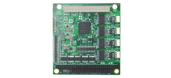 JANUS-MM-4LP 2- or 4-Port PC/104-Plus CAN I/O Module Targets Rugged Networked Applications