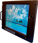 COTS RETMA Rack Mount Monitors