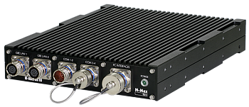"""Rugged 19/2"""" Conduction-Cooled System M-Max HR 1U DT"""